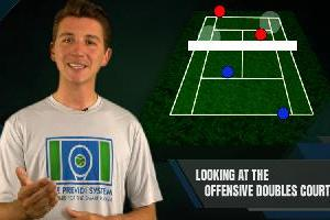 The Offensive Doubles Court In Doubles Tennis