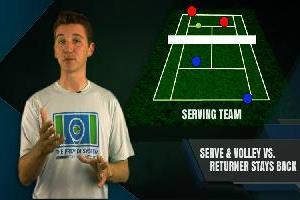 Serve And Volley Vs. Returner Who Stays Back