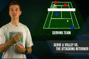Serve And Volley Vs. The Attacking Returner
